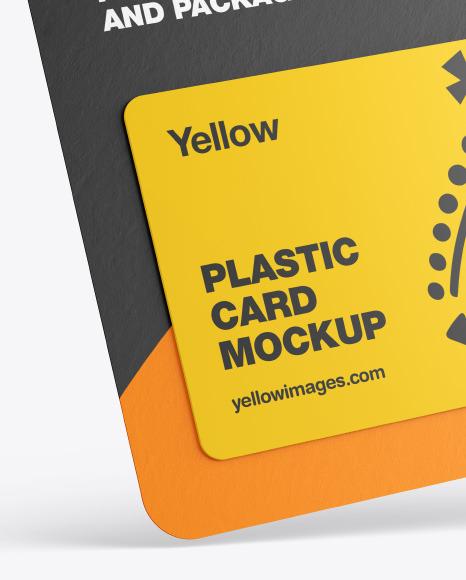 Gift Card Pack Mockup