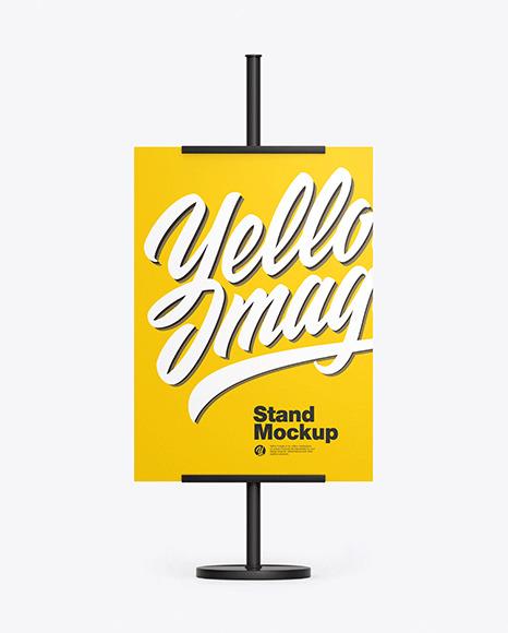 Street Stand Mockup