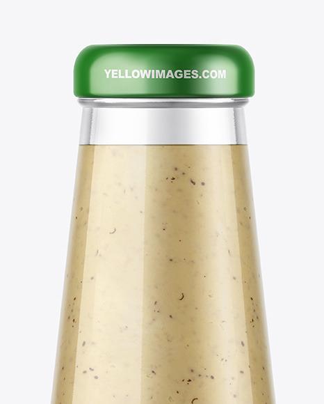 Mushrooms Sauce Bottle Mockup