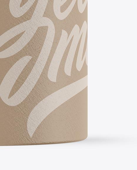 Paper Cosmetic Jar Mockup
