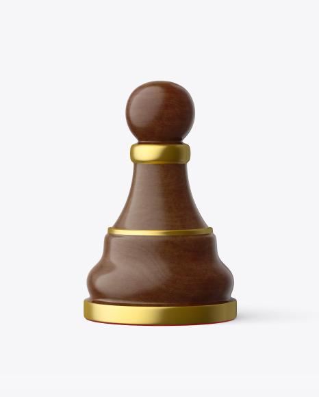 Chess Pawn Piece Mockup