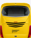 Bus Mockup - Back View