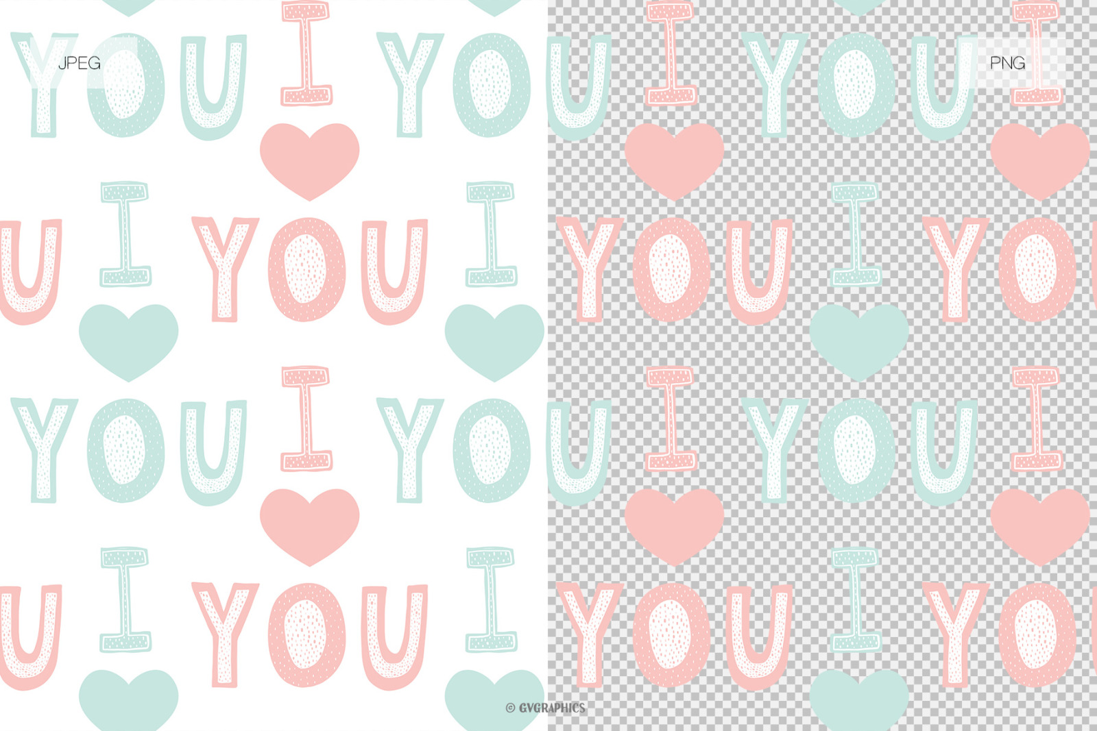 12 Happy Valentine's Day Vector Patterns and Seamless Tiles