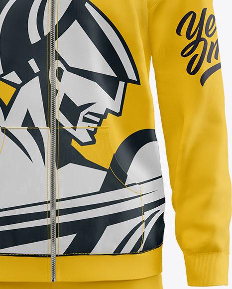 Men's Sport Suit Mockup – Front View