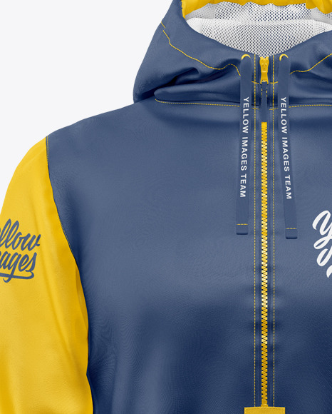 Anorak Mockup - Front View