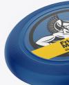 Two Matte Frisbee Mockup
