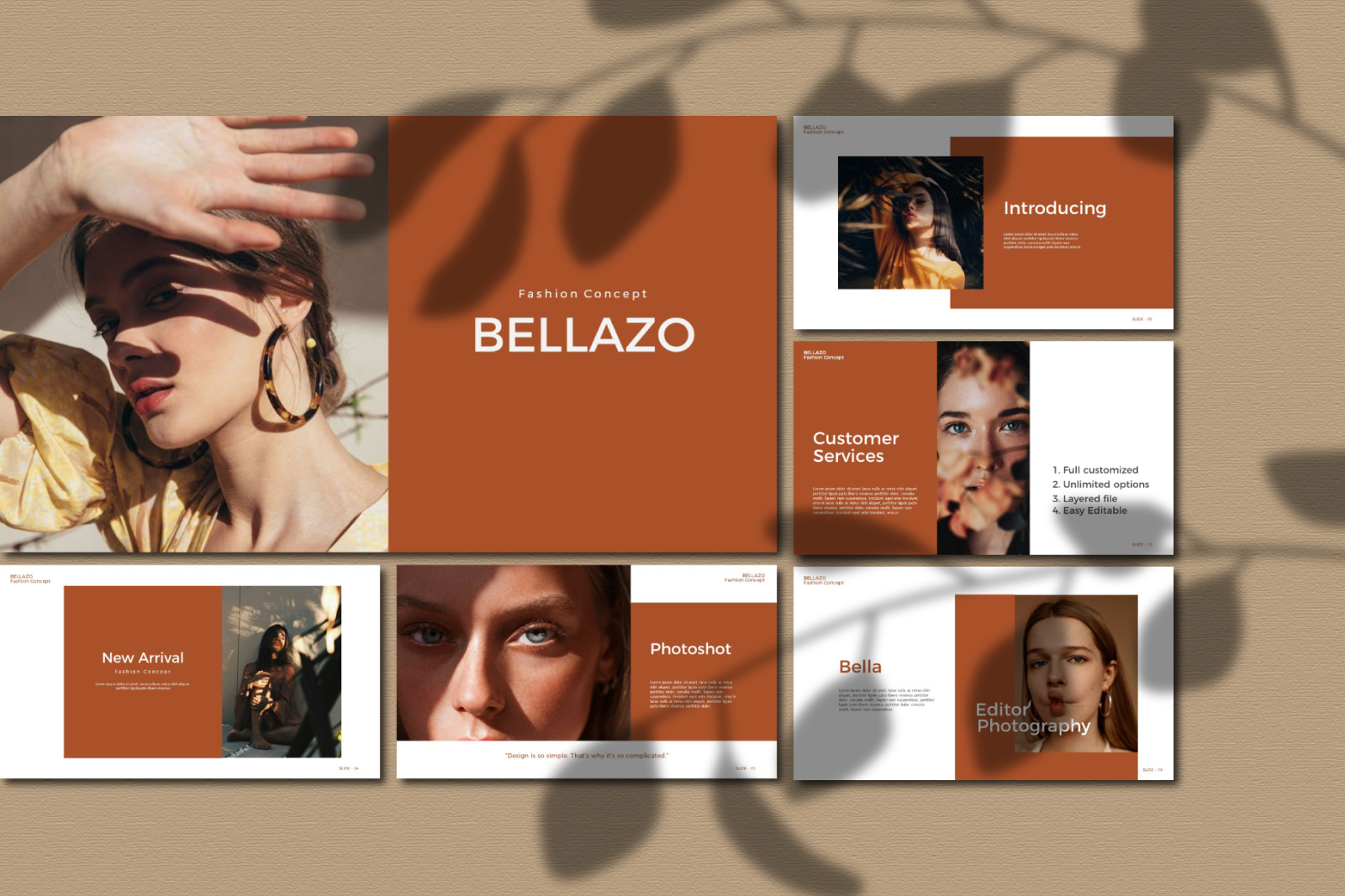 Bellazo Presentation Bundle Presentation Template