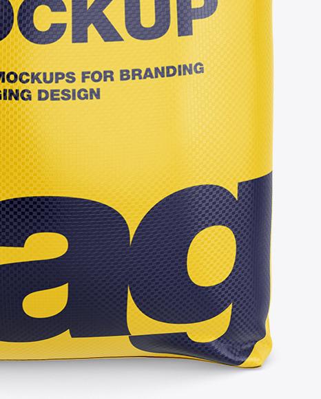 Polypropylene Bag 3D Mockup