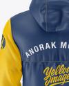 Anorak Mockup - Back View