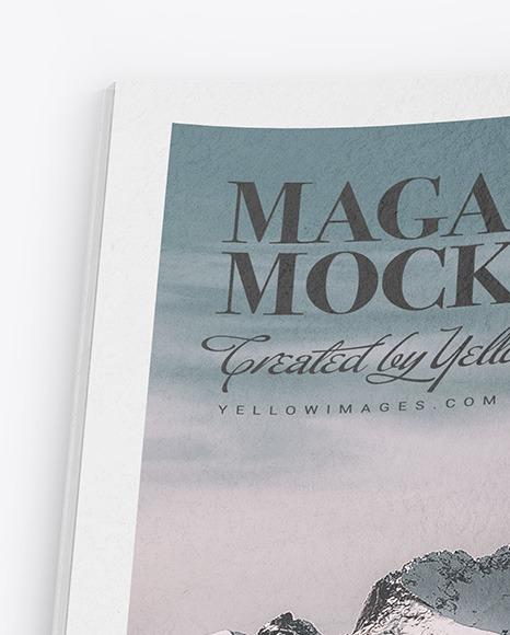 Paper Magazine Mockup