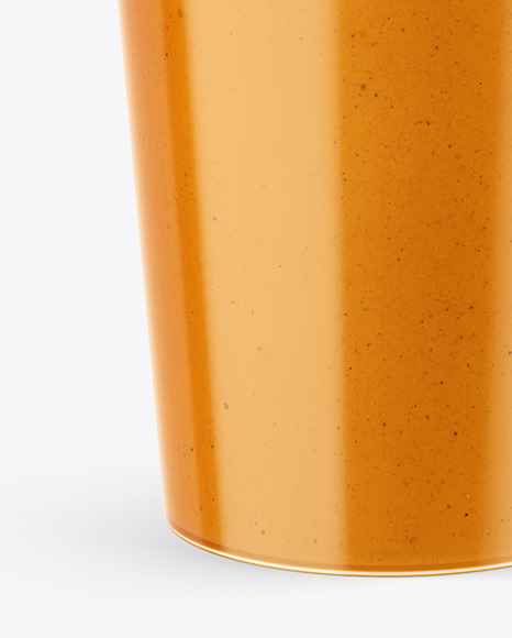 Plastic Soup Container Mockup