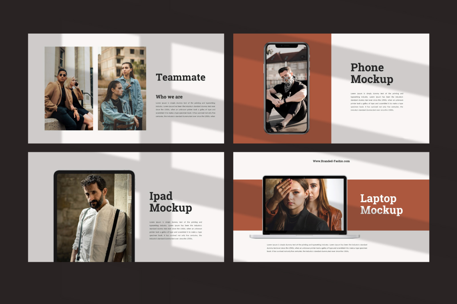 Branded Powerpoint Template