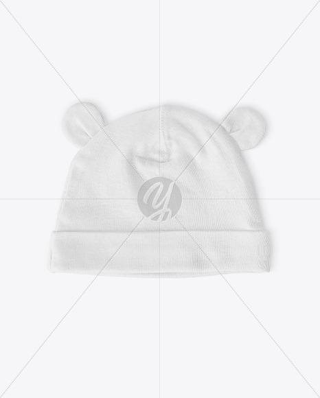 Baby Hat Mockup