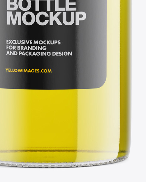Olive Oil Bottle Mockup