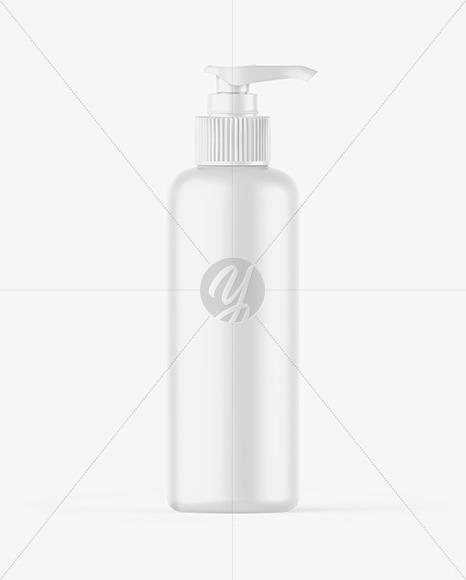 Matte Bottle w/ Closed Pump Mockup