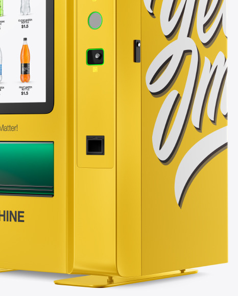 Vending Machine Mockup
