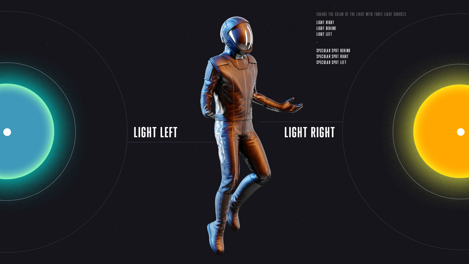 PSD Mockup 3D model SpaceX Astronaut #07