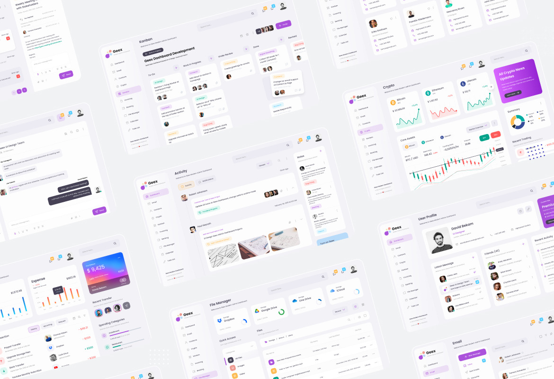 Geex - Modern Elegant Admin Dashboard UI Template