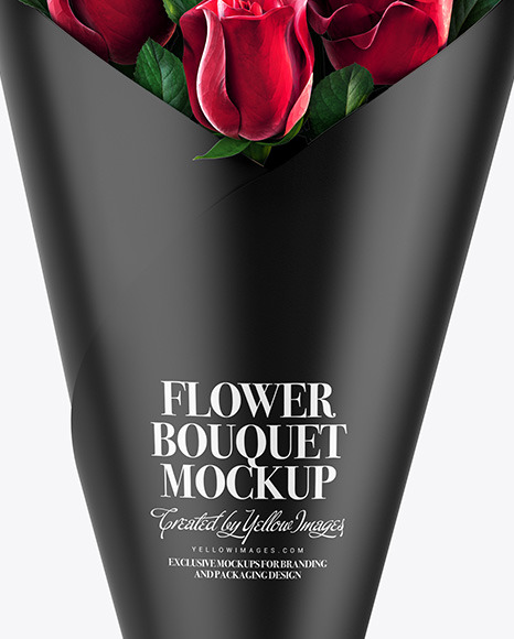 Flower Bouquet Mockup