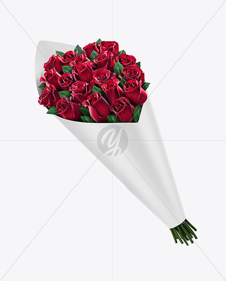 Flower Bouquet Mockup