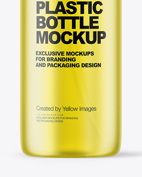 Frosted Color Liquid Cosmetic Bottle Mockup