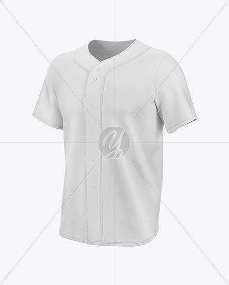 Men's Baseball Jersey Mockup