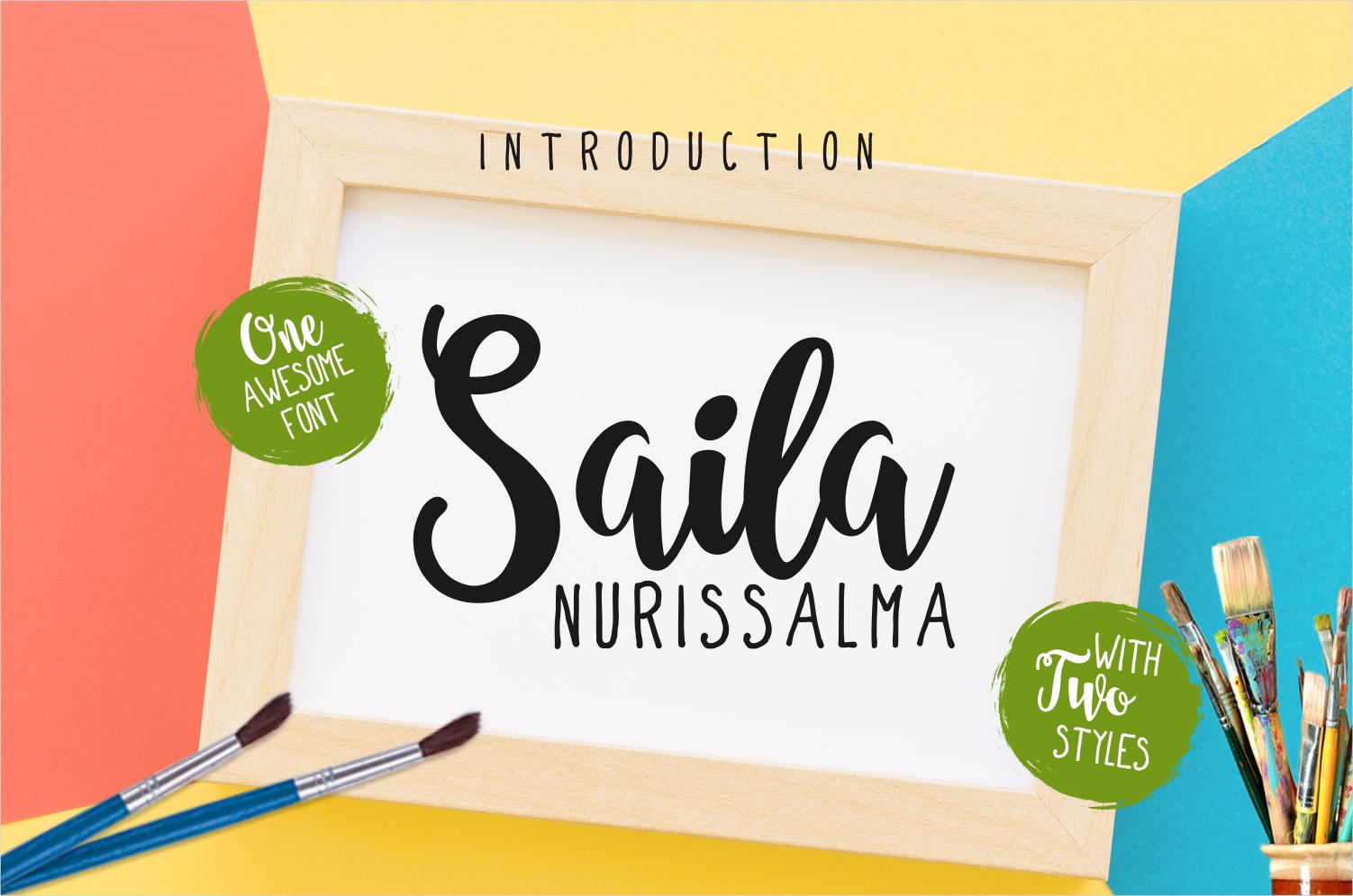 Saila Nurissalma Font