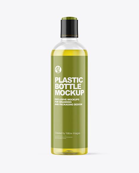 Color Liquid Cosmetic Bottle Mockup