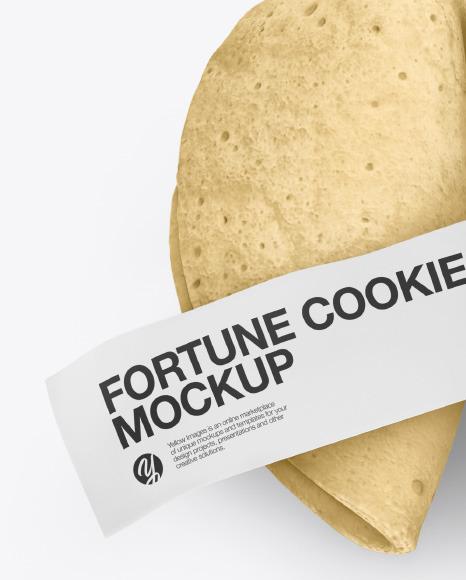 Fortune Cookies Mockup