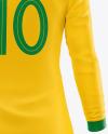 Women's Football kit Long Sleeve Mockup – Back View