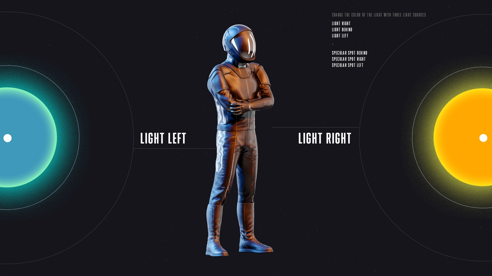 PSD Mockup 3D model SpaceX Astronaut #24