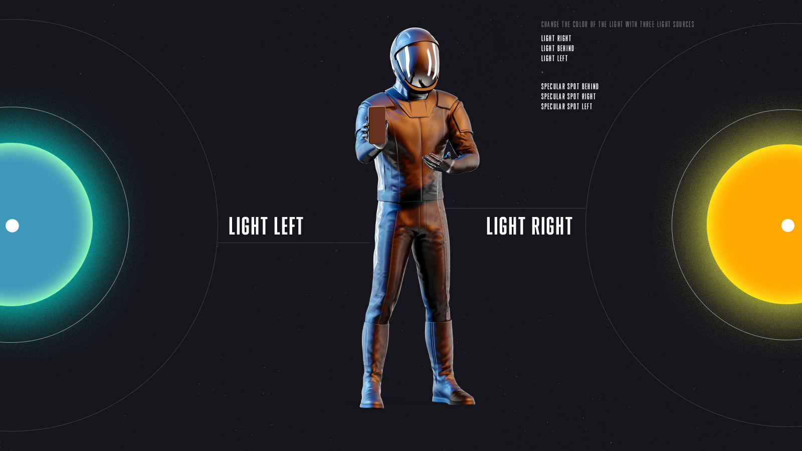 PSD Mockup 3D model SpaceX Astronaut #47
