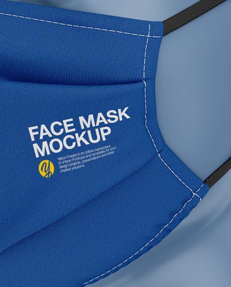 Face Mack Mockup
