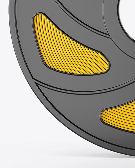 Plastic Filament Spool Mockup