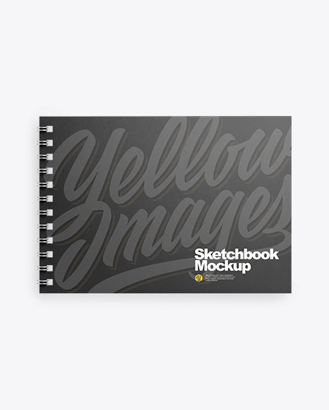 Spring Sketchbook Mockup