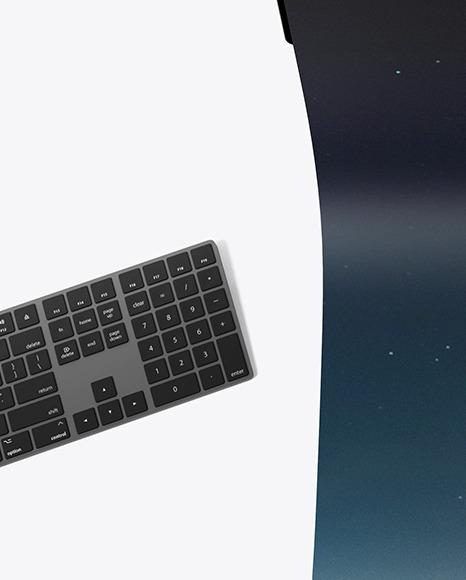 XDR Display with Cloth Screen Mockup