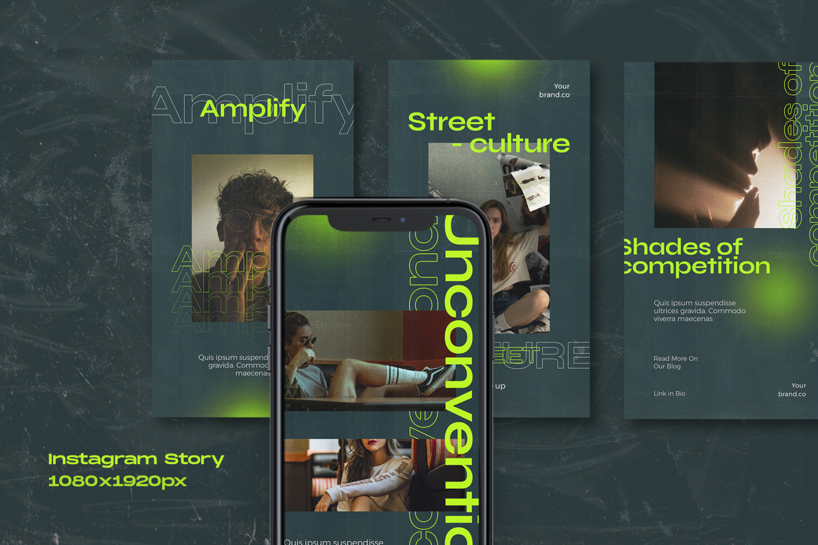 Snooby - Instagram Stories & Post Template