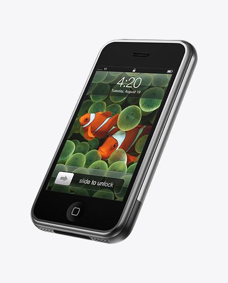iPhone 2G Mockup