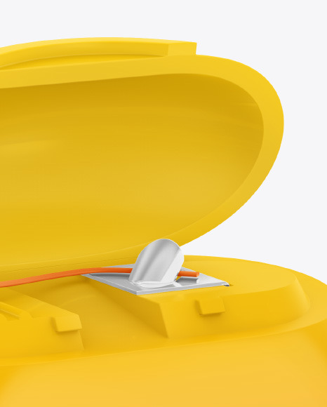 Matte Dental Floss Box Mockup