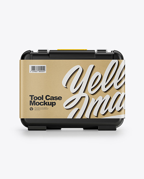 Tool Case Mockup - Front View