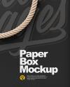 Box with Handles Mockup