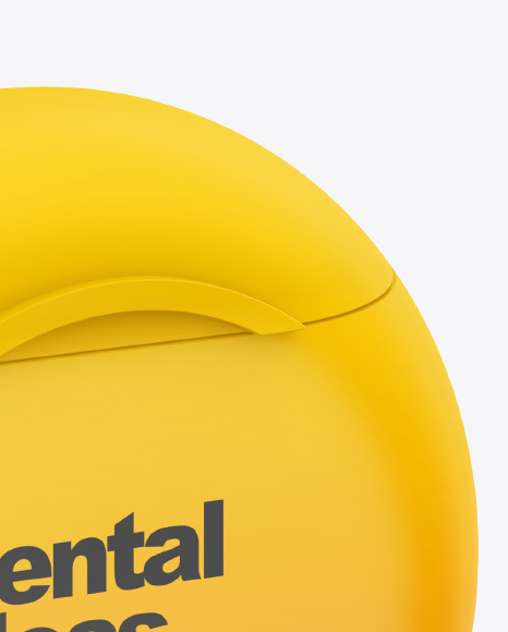 Matte Dental Floss Box Mockup