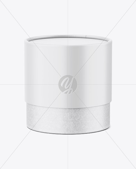 Matte Paper and Kraft Paper Tube Mockup