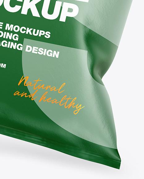 Paper Snack Package Mockup
