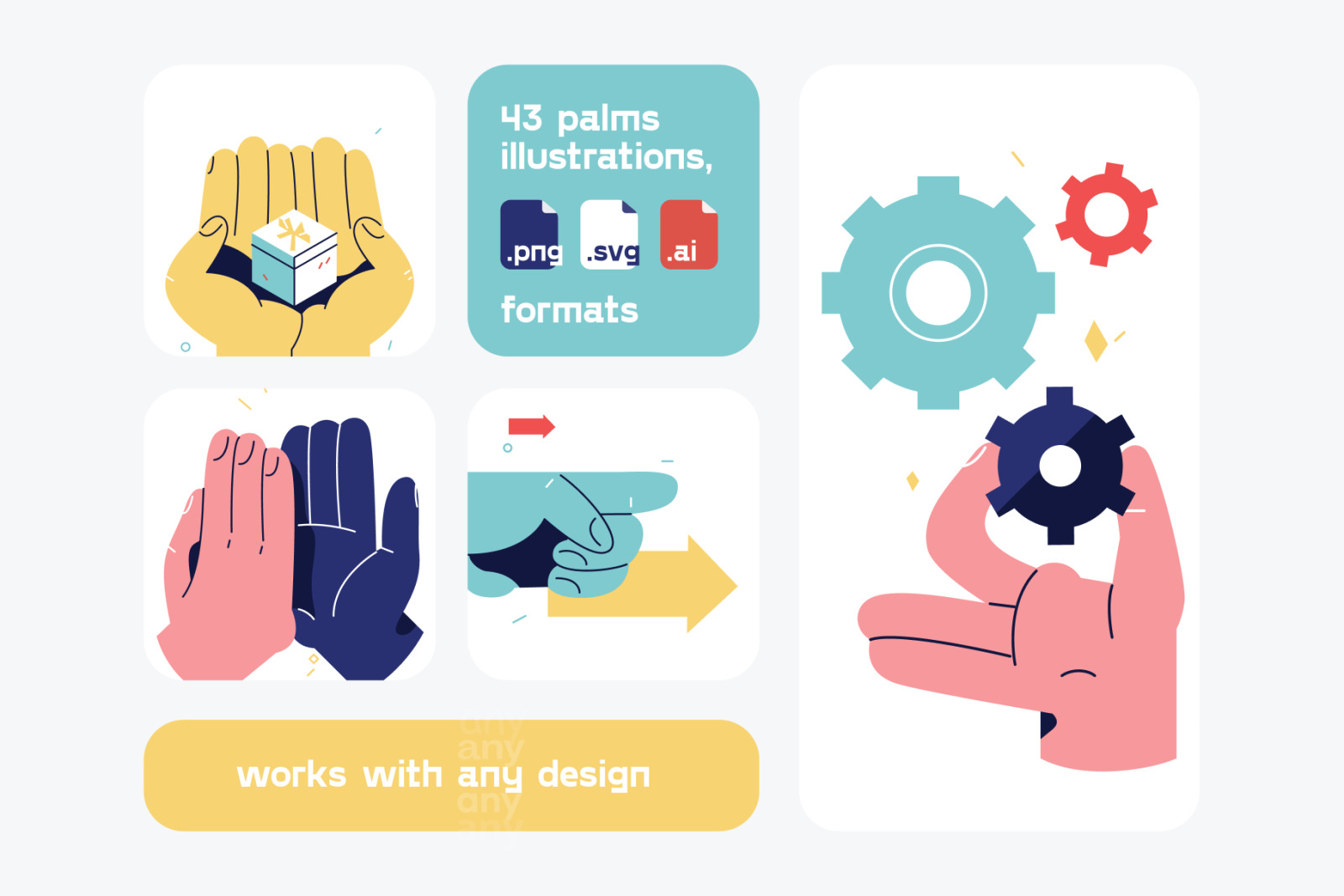Palms Illustrations