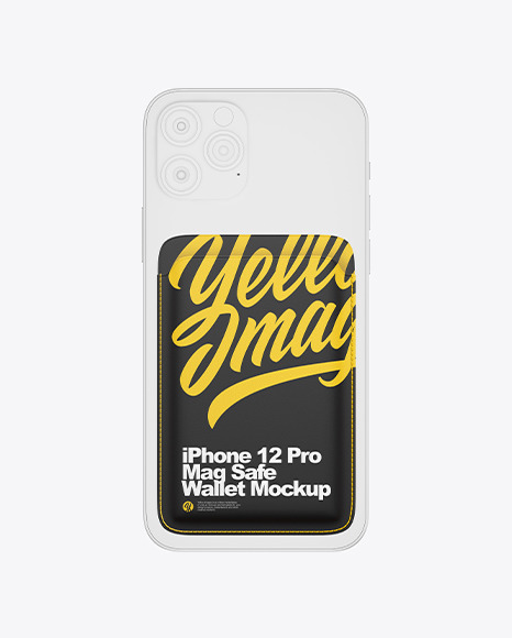 iPhone 12 Pro Mag Safe Wallet Mockup