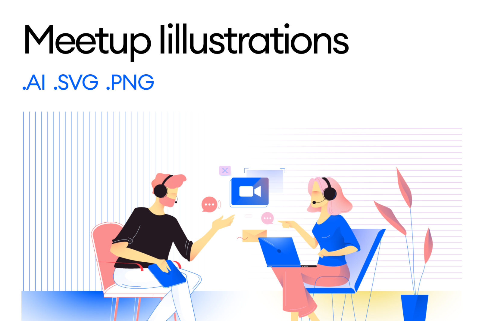 Meetup Illustrations