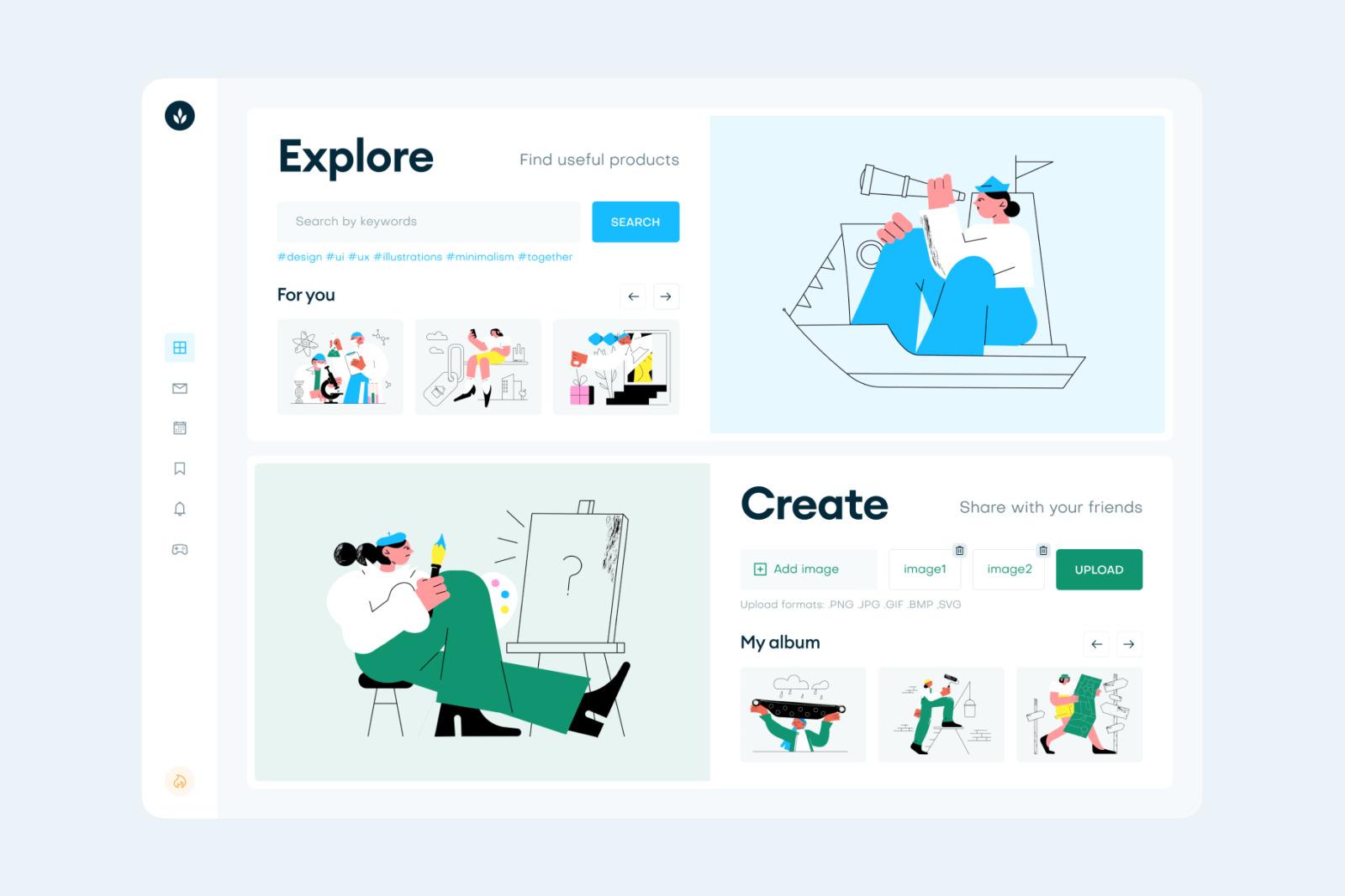 Come Together Illustrations