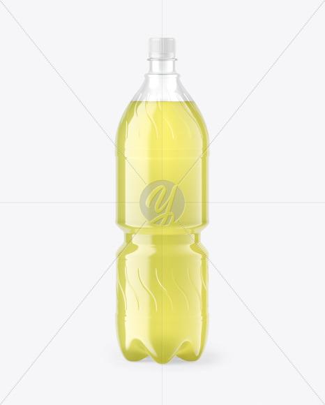 Lime Soft Drink Bottle Mockup