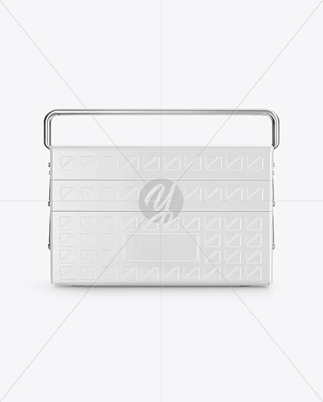 Tool Box Mockup - Front View